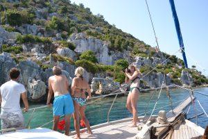 Genießen Sie eine Bootsfahrt um Kekova und Simena