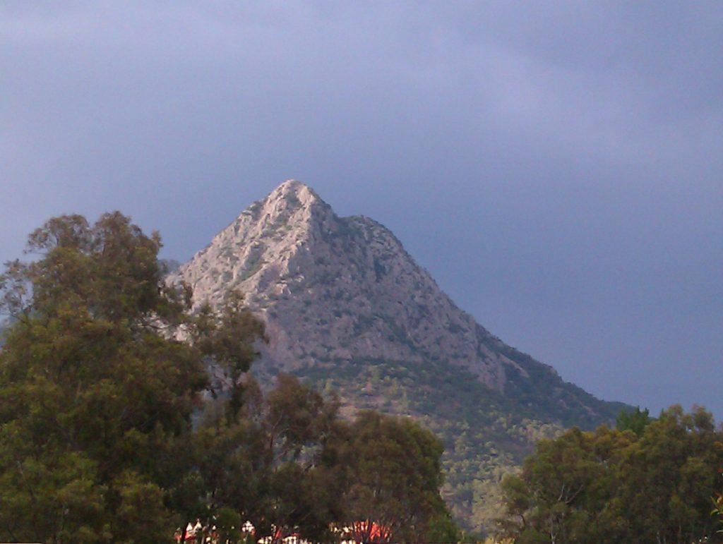 Ziel schöner Wanderungen: Der Moses-Berg bei Adrasan