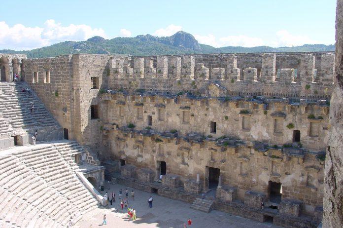 Aspendos hat das besterhaltene Theater Kleinasiens