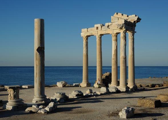 Ein begehrtes Fotomotiv ist der Tempel des Appollon