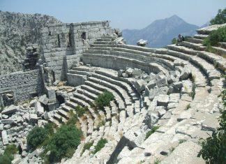 Die antiken Reste von Termessos im Norden Antalyas