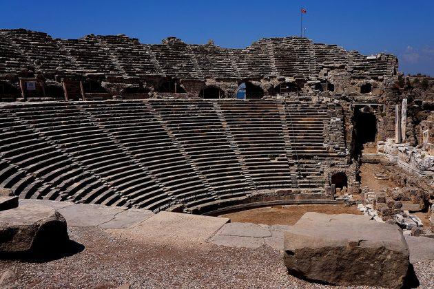 Das Theater bot Platz für 15 000 Zuschauer