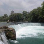 Die Stromschnellen des wasserreichen Manavgat-Flusses